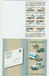 s36557 AZERBAIJAN EUROPA CEPT MNH** 2013 Booklet