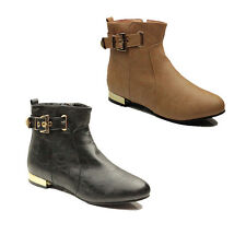 WOMENS CHELSEA LOW BLOCK HEEL ANKLE BOOTS BOOTIES LADIES SHOES NEW SIZE 3-8
