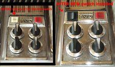 Jenn Air push button FAN SWITCH Replacement Kit  3 wire Y708285 708285