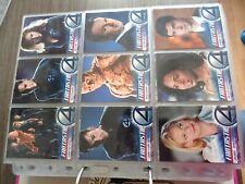 Trading Card set Fantastic Four MARVEL Upper Deck 100 cards