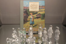 Swarovski Julias World Crystal Figurine Set Nine Figures Book Original Package