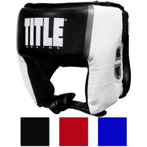 Title Boxing Aerovent Elite Open Face Amateur Competition Headgear