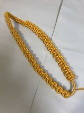 New ListingVietnam War Era Gold Yellow Cavalry Shoulder Cord Dress Uniform Army