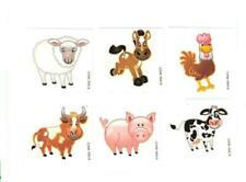 144  Farm Animals Tattoos Party Favor Prize Reward