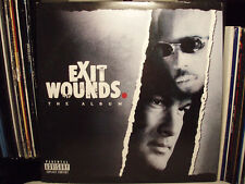 EXIT WOUNDS SOUNDTRACK (VINYL 2LP)  2001!!  RARE!!!  DMX + LOX + NAS + REDMAN!!!