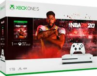 Microsoft - Xbox One S 1TB NBA 2K20 Bundle - White  Brand New