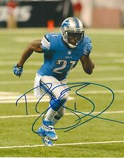 REGGIE BUSH signed DETROIT LIONS 8X10 PHOTO COA