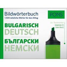 NEU: PONS Bildwörterbuch BULGARISCH - die wichtigsten Wörter für den Alltag