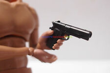 """1 x New 1/6 Scale M1191A1 Hand Gun Black Color For 12"""" Action Figure WWII US"""