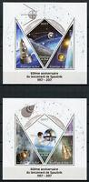 Mali 2017 MNH Sputnik 1 Launch 60th Anniv Korolev 3v M/S I & II Space Stamps