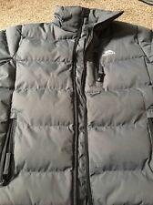 Boys trespass padded zip up jacket age 9-10 years Grey