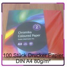 Drucker Kopier Papier Farbe Rot 80g/m² 100 Stück