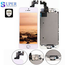 Display für iPhone 5S mit RETINA LCD Glas VORMONTIERT Komplett Front Weiss NEU