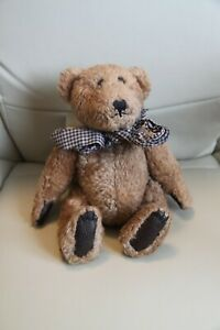 """BOYDS JB BEAN SERIES (THE BOYD COLLECTION) JOINTED 10"""" BROWN BEAR 1985-94"""