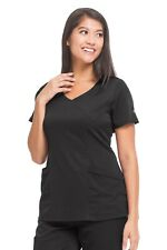 Healing Hands HH Works 2525 Madison Mock Wrap Scrub Top