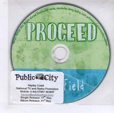 (GJ423) Proceed, Visual Field - 2010 DJ CD