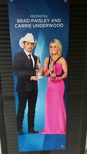 Carrie Underwood/Brad Paisley official banner from the 2017 CMA Award Show