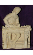 Statuette médiévale Pierre - décoration médiévale - Menuisier médiéval