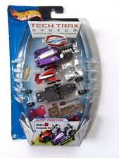 Hot Wheels Tech Trax System Jump Master Car Set 2004 Factory Sealed Rare
