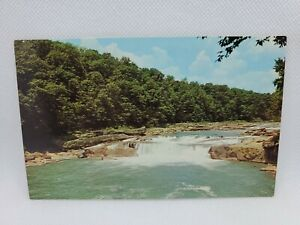 Vintage Ohiopyle Falls Youghiogheny River Fayette County Pennsylvania Postcard