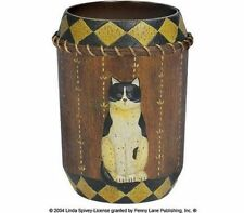 Rare Find! NEW Blonder Home Country Cats by Linda Spivey Tumbler Cup Mug