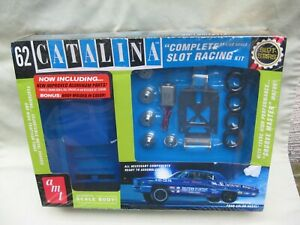AMT '62 Catalina 1/25 Slot Car Model / Complete Slot Racing Kit / NEW OLD STOCK