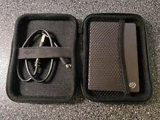 "Seagate Backup Plus Slim 2TB Portable External Hard Drive USB 3.0, 2.5"", w/ case"