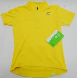 Cannondale Kids Jersey Short Sleeve - Medium - Yellow - 3K101M/YLW - NEW
