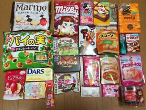 NEW! Japanese candy chocolate and snacks 1Kg box / Direct shipping from Japan!