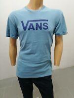 Maglia VANS Uomo Taglia Size L T-shirt Man Polo Manica Corta Cotone Camicia 7864