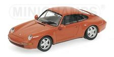 PORSCHE 911 1993 orange 1/43 MINICHAMPS 430063012