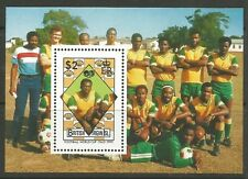 STAMPS-VIRGIN ISLANDS. 1989. World Cup Football M/Sheet. SG: MS726. MNH
