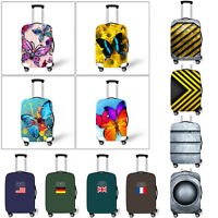 S M L Elastic Travel Luggage Suitcase Spandex Cover Protector For 18'' ~ 28''