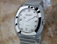 Girard Perregaux Swiss Made Mens 1970s Automatic Stainless St Dress Watch MX59