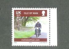 Motorcycles-Motorbikes-Isle of man single value 2010-mnh