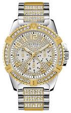 Reloj Hombre GUESS WATCHES GENTS FRONTIER W0799G4 de Acero inoxidable Dorado