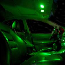 2 ampoules à LED c5w feston navettes 36 mm LED plafonnier vert