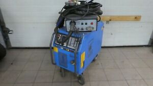 Schweißgerät Industrie Schutzgas wassergekühlt Cloos GLC 353 Quinto MIG / MAG