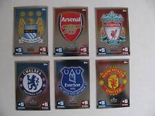 Match Attax 2014 2015 Club Badges Barclays Premier League English Colours Emblem