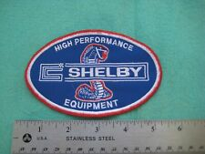 Ford Shelby High Performance Equipment  Parts  Service Dealer Uniform Patch