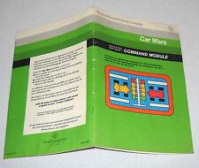 Istruzioni Gioco TEXAS INSTRUMENTS Home computer CAR WARS - 1981