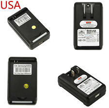 2 xExternal Battery Wall Travel Charger Plug Fr Samsung Galaxy S3 SIII i9300 USA