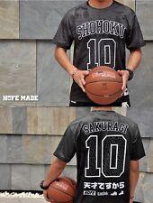 SLAM DUNK Shohoku Player No.10 Sakuragi Hanamichi Top Outfit T-shirt Cosplay