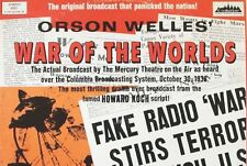 Orson Welles - War Of The Worlds - Radio Broadcast 1938  On One Audio cd