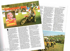 old Graham Noyce Motorcycle Article / Photos / Pictures: Bsa