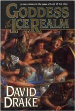 GODDESS OF THE ICE REALM ~ DAVID DRAKE ~ COVER ART DONATO ~ 1st PRINT