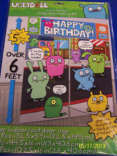 Uglydoll Ugly Dolls Cartoon Kids Birthday Party Scene Setter Wall Decorating Kit