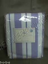 Pottery Barn Kids Spring Stripe Drapes panels Window curtains 44x84 lavender