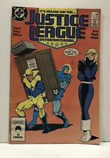 Justice League International #8 1987 Dc Comics Fine 6.0