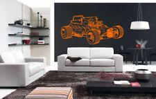 Wall Vinyl Sticker Room Decals Mural Design Old Retro Car Vehicle Auto  bo1592